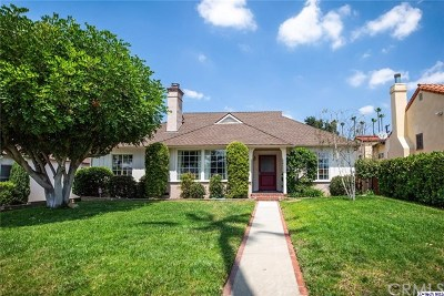 Glendale Single Family Home For Sale: 1531 Winchester Avenue