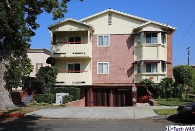 Burbank Condo/Townhouse For Sale: 1015 E Spazier Avenue #201