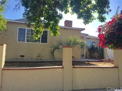 North Hollywood Single Family Home For Sale: 8103 Teesdale Avenue
