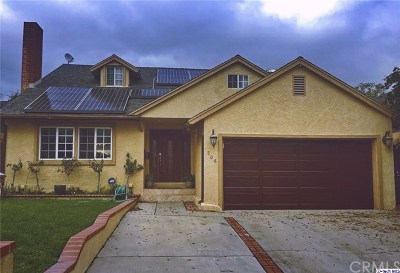 Burbank Single Family Home For Sale: 506 N Bel Aire Drive