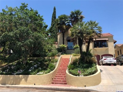 Glendale Single Family Home For Sale: 863 E Mountain Street