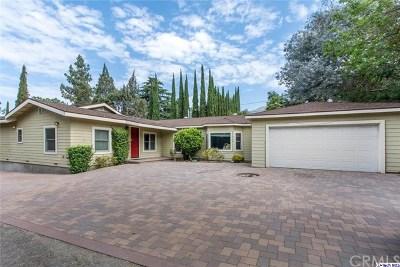 La Crescenta Single Family Home For Sale: 4535 Briggs Avenue