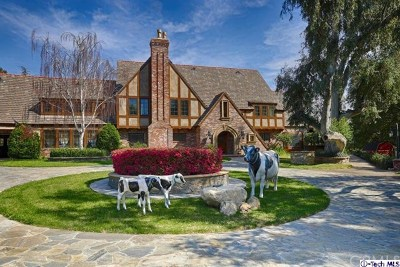 La Canada Flintridge Single Family Home For Sale: 245 Berkshire Avenue