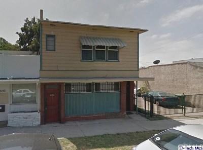 Los Angeles Single Family Home For Sale: 3038 Glendale Blvd. Boulevard