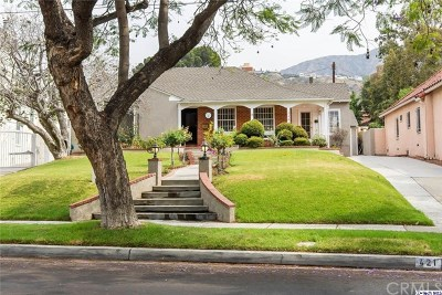 Glendale Single Family Home For Sale: 421 W Kenneth Road