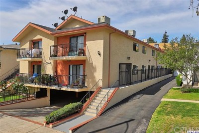 Burbank Multi Family Home For Sale: 2243 N Catalina Street