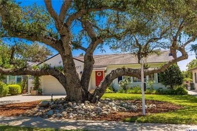 Pasadena Single Family Home For Sale: 550 Eaton Drive