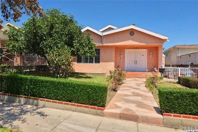 Glendale Single Family Home For Sale: 1426 N Pacific Avenue