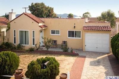 Burbank CA Single Family Home For Sale: $869,000