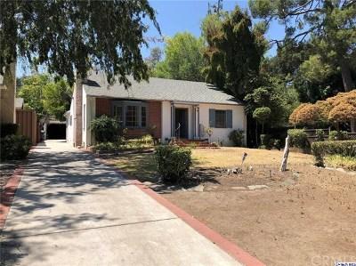 Pasadena Single Family Home For Sale: 1137 Linda Vista Avenue