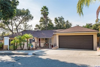 Glendale Single Family Home For Sale: 1853 Las Flores Dr. Drive