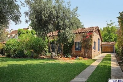 San Marino Single Family Home For Sale: 840 Winthrop Road
