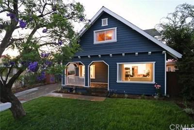 Pasadena Single Family Home For Sale: 1963 Casa Grande Street