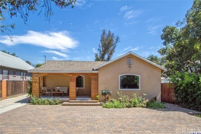 Pasadena Single Family Home For Sale: 1766 Navarro Avenue