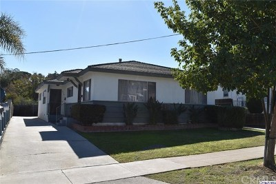 Los Angeles Multi Family Home For Sale: 3918 York Boulevard