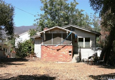 Sierra Madre Single Family Home For Sale: 127 E Highland Avenue
