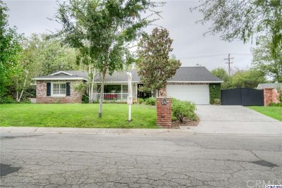 Fullerton Single Family Home For Sale: 3221 Las Faldas Drive