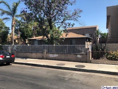 North Hollywood Multi Family Home For Sale: 12820 Vanowen Street