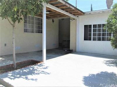 Tujunga Single Family Home For Sale: 7307 Foothill Boulevard