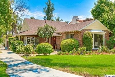 Glendale Single Family Home For Sale: 436 Spencer Street