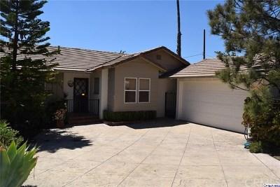 Glendale Single Family Home For Sale: 3836 Los Olivos Lane