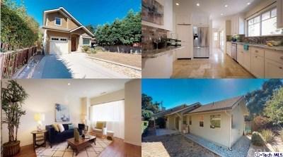 La Crescenta Single Family Home For Sale: 2505 Olive Avenue