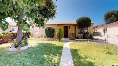 North Hollywood Single Family Home For Sale: 6247 Willowcrest Avenue