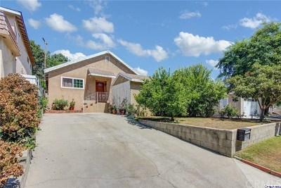 Glendale Single Family Home For Sale: 3627 Virginia Street