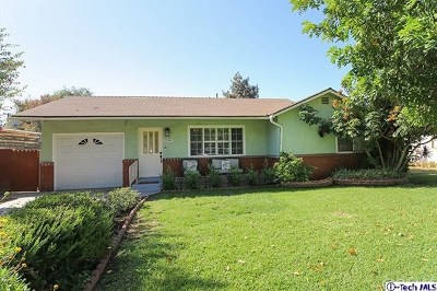 Duarte Single Family Home For Sale: 2546 Conata Street