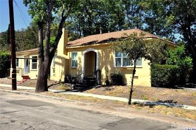 Glendale Multi Family Home For Sale: 1655 El Rito Avenue
