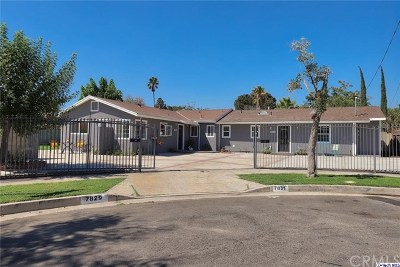 North Hollywood Single Family Home For Sale: 7829 Nagle Avenue