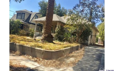 Pasadena Single Family Home For Sale: 241 N Mar Vista Avenue