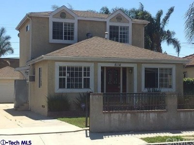 Hawthorne Single Family Home For Sale: 5114 W 142nd Street