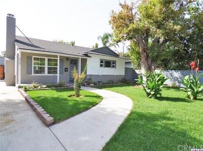 Valley Glen Single Family Home For Sale: 5937 Ranchito Avenue