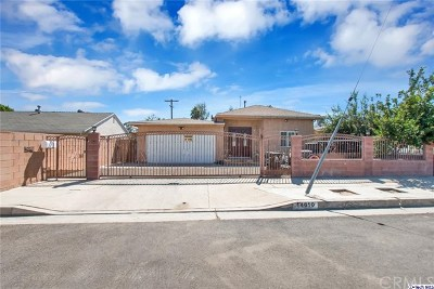Van Nuys Single Family Home For Sale: 14610 Cohasset Street