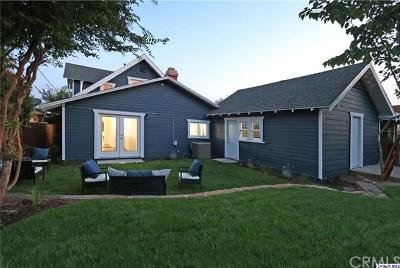 Pasadena CA Single Family Home For Sale: $1,195,000