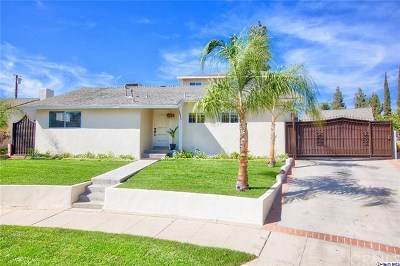 North Hollywood Single Family Home For Sale: 12643 Elkwood Street