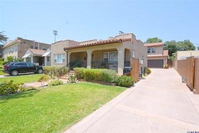 Glendale Multi Family Home For Sale: 1515 Orange Grove Avenue