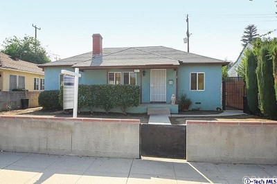 Single Family Home For Sale: 525 N Buena Vista Street