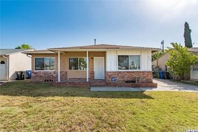 Sun Valley Single Family Home For Sale: 8350 Glenoaks Boulevard