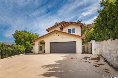 Sunland Single Family Home For Sale: 10110 Sunland Boulevard