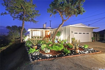 La Canada Flintridge Single Family Home For Sale: 4126 Wishing Hill Drive