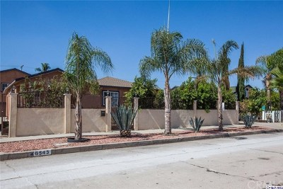 North Hollywood Single Family Home For Sale: 6543 Rhodes Avenue