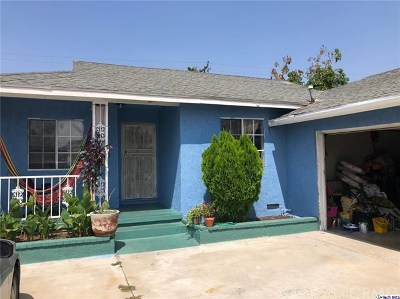 La Puente Single Family Home For Sale: 737 Sandia Avenue