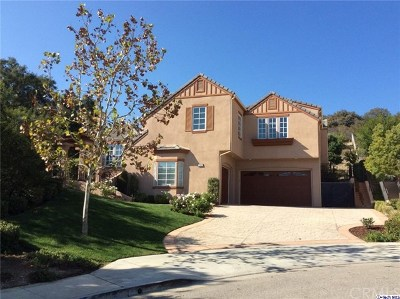 Westlake Village Single Family Home For Sale: 737 Coral Ridge Court