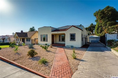 Glendale Single Family Home For Sale: 1231 Justin Avenue