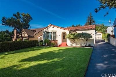 Glendale Single Family Home For Sale: 1619 Thompson Avenue