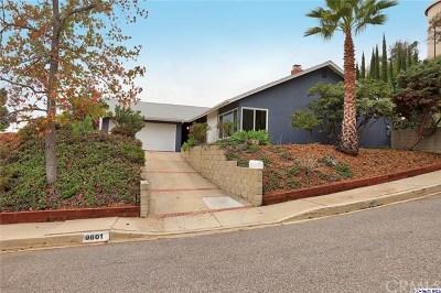 Tujunga Single Family Home For Sale: 9601 Crystal View Drive