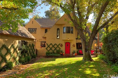 Glendale Single Family Home For Sale: 1720 Willow Drive