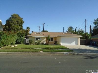 Granada Hills Single Family Home For Sale: 11412 Gaynor